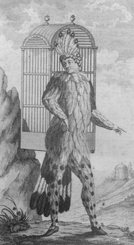 Emanuel Shikaneder en Papageno, 1791 © Österreichische Nationalbibliothek
