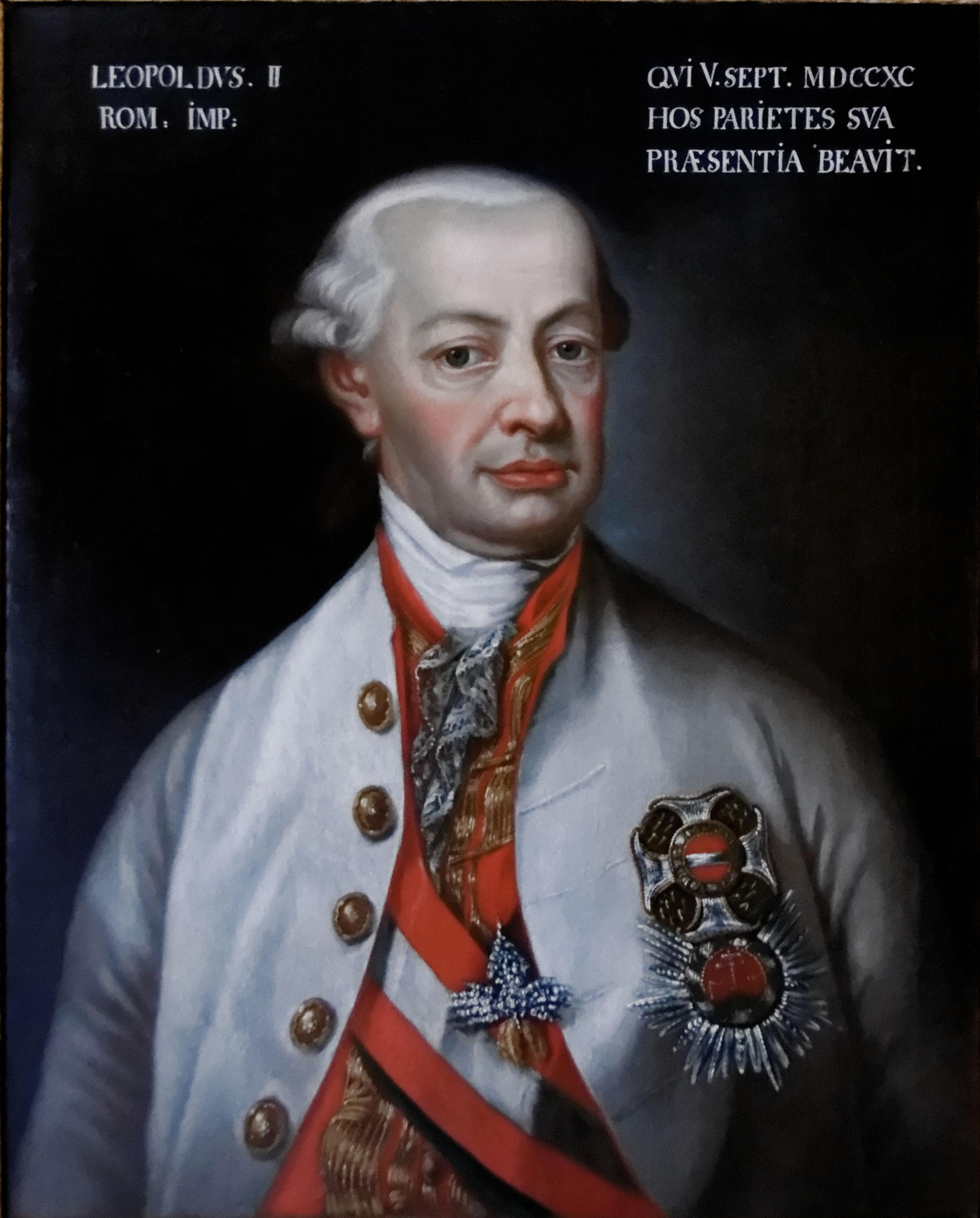 L'Empereur Leopold II, Anonyme, vers 1791-92 © Magyar Nemzeti Muzeum Budapest
