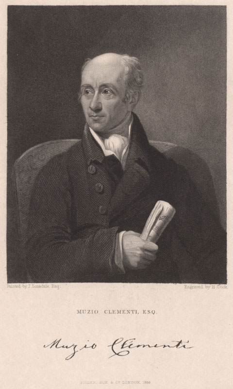 Portrait de Muzio Clementi © Österreichische NationalbibliotheK