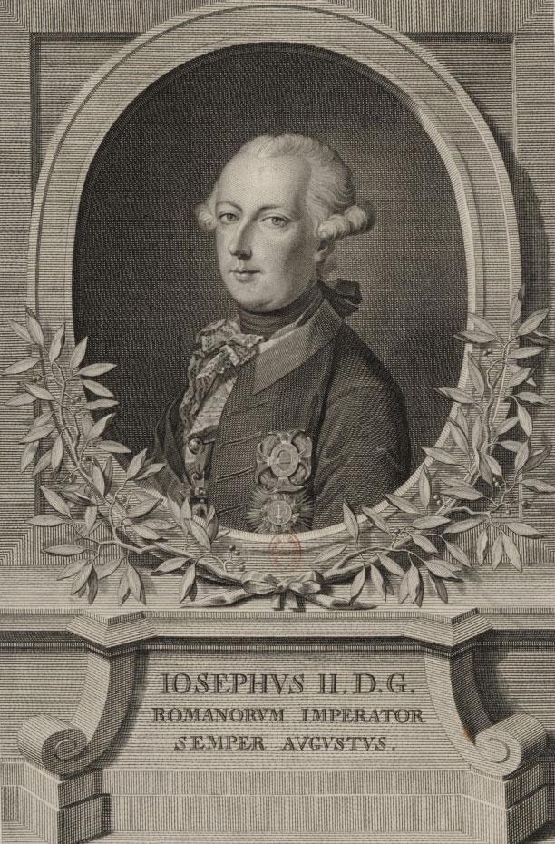 Portrait de Joseph II © Gallica - BnF
