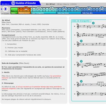 Guide d'écoute So What de Miles Davis de la boîtes à outils Miles Davis