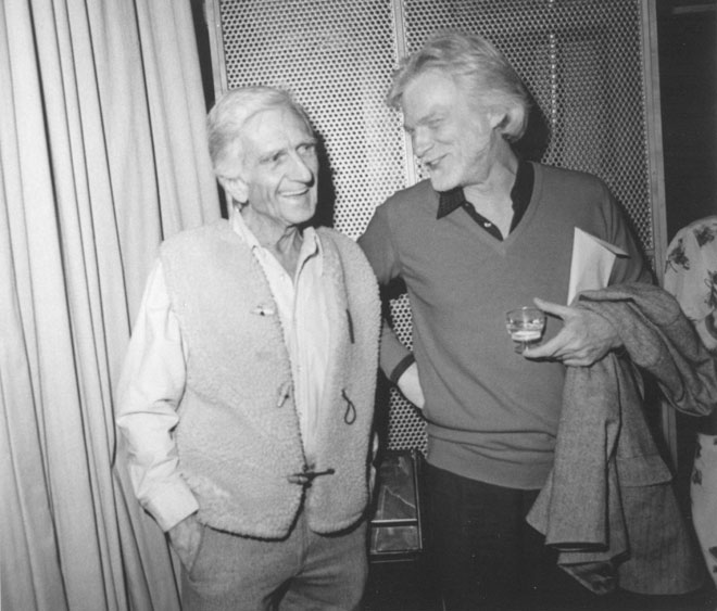 Gerry Mulligan et Gil Evans, photographie de Chuck Pulin, 1982 © Library of Congress