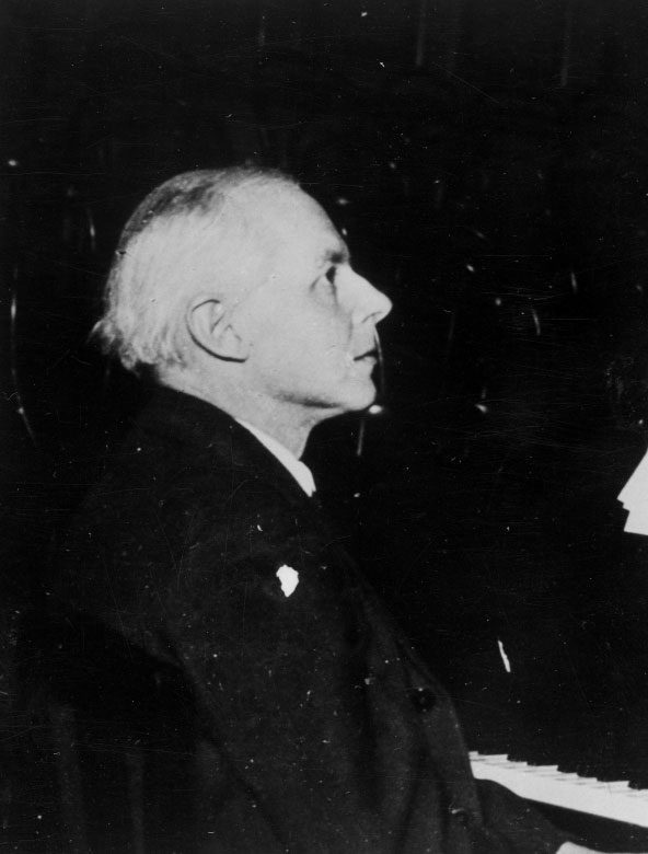 Béla Bartók au piano © Österreichische Nationalbibliothek