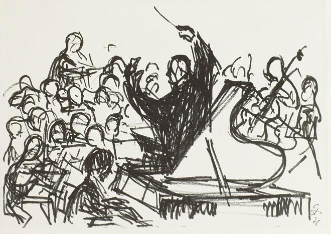 Klavierkonzert, de Gerhard Stengel, 1970 © SLUB-Deutsche Fototek
