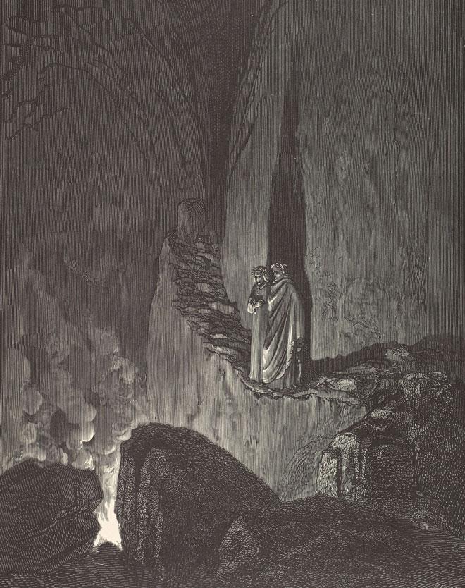 La vision de l'Enfer, par Gustave Doré © Metropolitan Museum