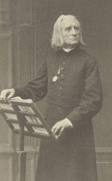 Liszt au pupitre © Österreichische-Nationalbibliothek