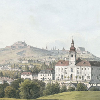 Brno, République tchèque, 1817 © Österreichische Nationalbibliothek