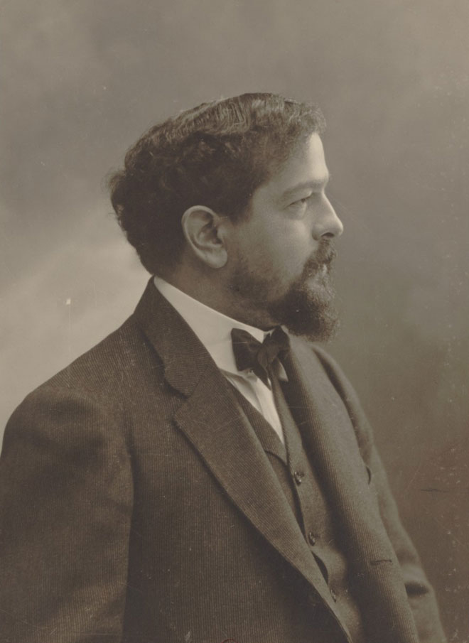 Portrait de Claude Debussy par Nadar © Gallica-BnF