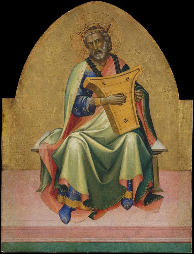David, par Lorenzo Monaco (env. 1408-1410) © Metropolitan Museum