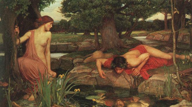 Écho et Narcisse, par John William Waterhouse, 1903 © Walker Art Gallery