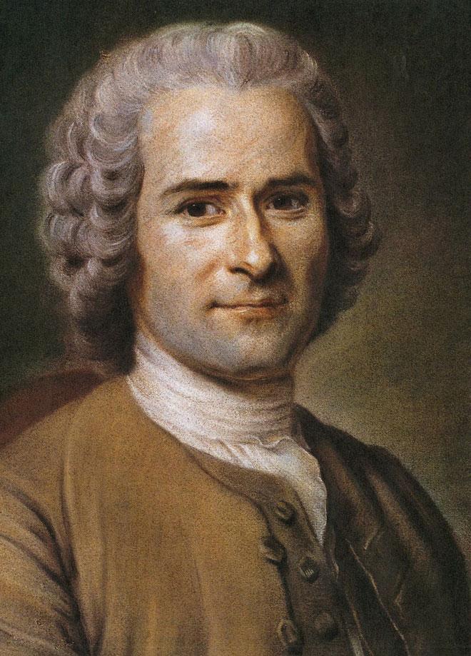 Jean-Jacques Rousseau, par Maurice Quentin de la Tour © Musée Antoine-Lécuyer