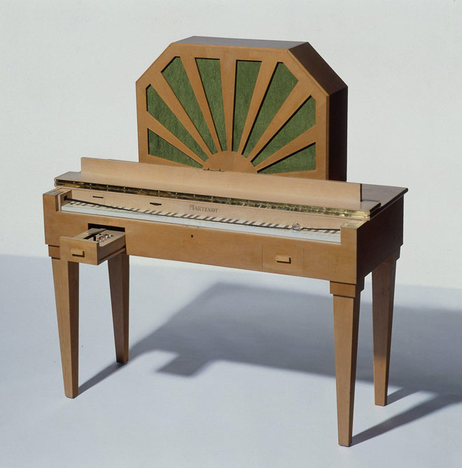 Ondes Martenot, photographie de Albert Giordan © Musée de la musique-Philharmonie de Paris