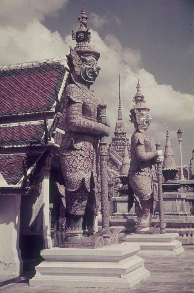 Grand palais, Bangkok, photo de Franz Grasser © SLUB - Deutsche Fotothek