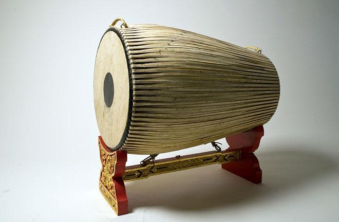 Tambour taphon © Ethnologisches Museum, Staatliche Museen zu Berlin