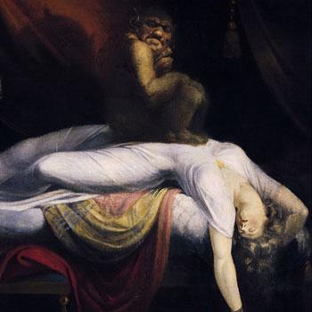 Le Cauchemar, peinture de Johann Heinrich Fussli © Detroit Institute of Arts
