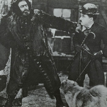 La Ruée vers l'or de Charlie Chaplin © SLUB - Deutsche Fotothek