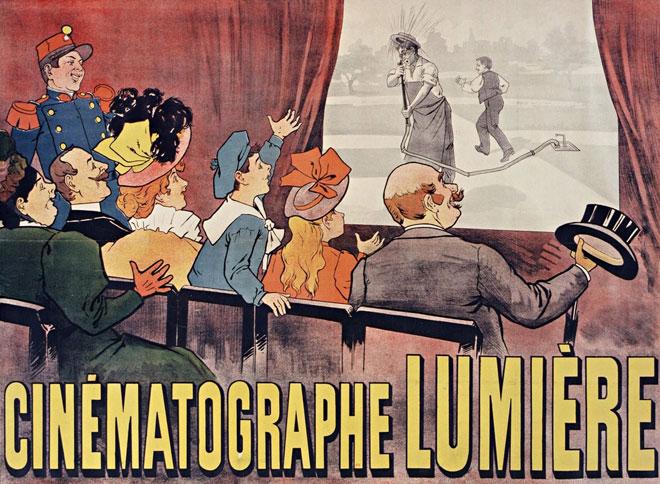 Cinématographe Lumière, affiche de Maurice Auzolle © Gallica-BnF