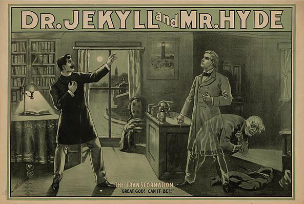 Dr Jekyll et M. Hyde, La transformation © Library of Congress