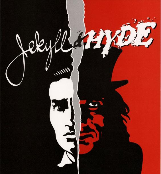 Dr Jekyll et M. Hyde, affiche de la comédie musicale © Österreichische Nationalbibliothek
