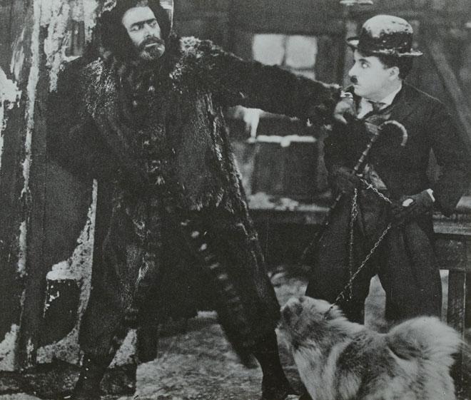 La Ruée vers l'or de Charlie Chaplin. SLUB - Deutsche Fotothek