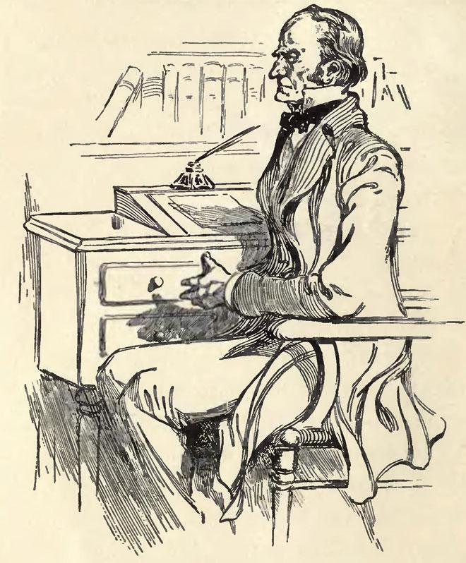 Mr Utterson, illustration de Charles Raymond Macauley pour l'édition de 1904 © University of Toronto, Robarts Library