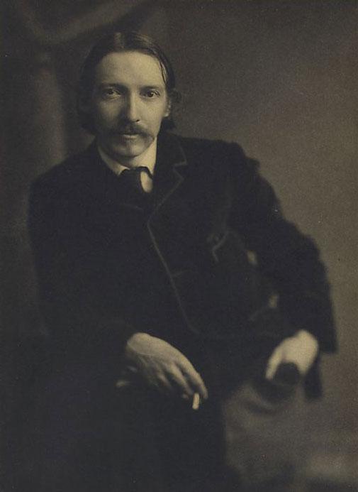 Robert Louis Stevenson, photographie de Charles L. Ritzmann © NY Public Library, digital collections