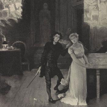 Les Contes d'Hoffmann de Offenbach (affiche) © Gallica-BnF
