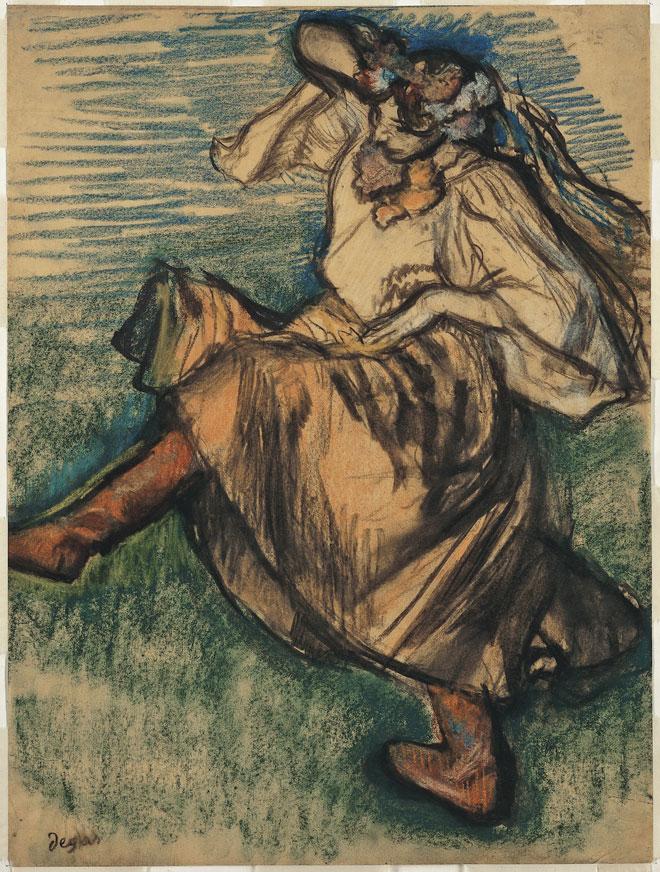 Danseuse russe, par Edgar Degas, 1899 © Metropolitan Museum
