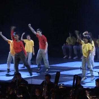 Concert filmé Stravinski en mode hip-hop