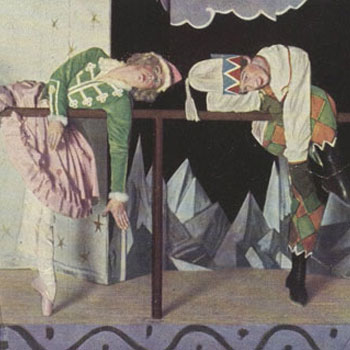 Marionnettes de Pétrouchka de Igor Stravinski © Gallica-BnF