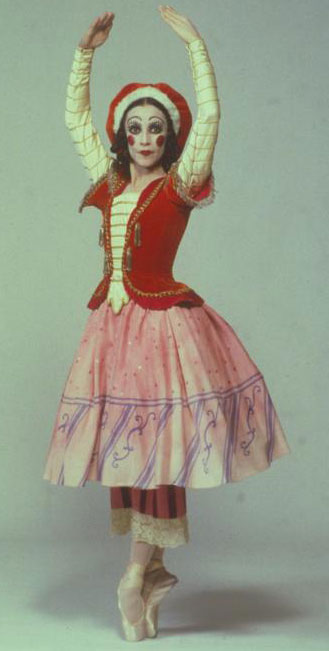 La Ballerine, photographie de Herbert Migdoll, 1970 © NY Public Library, digital collections