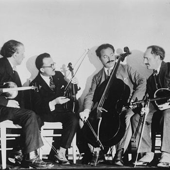 Quatuor à cordes Flanzaley © Library of Congress