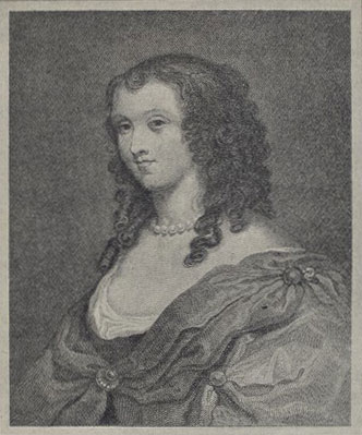 Aphra Behn, gravure de James Fittler, d'après Thomas Uwins © NY Public Library, digital collections