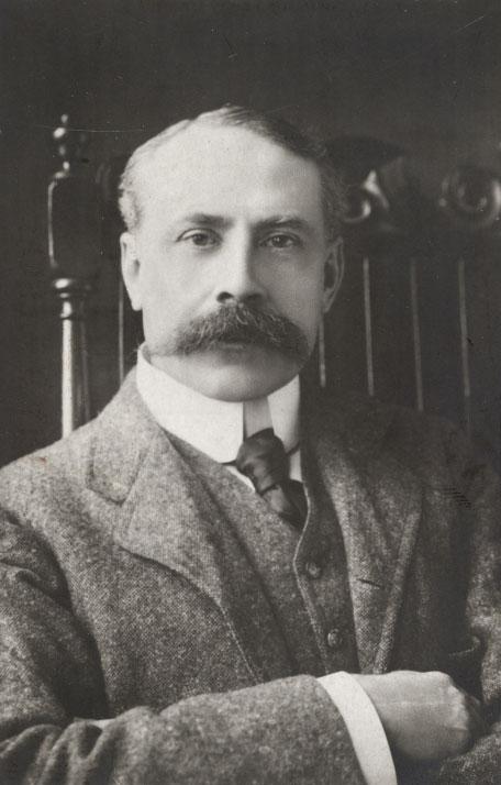 Portrait de Edward Elgar © Österreichische Nationalbibliothek