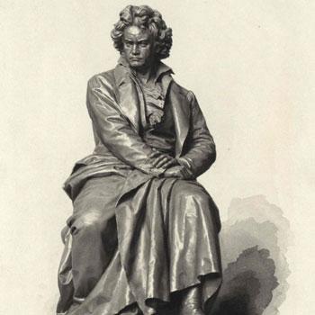 Monument de Beethoven à Vienne © Österreichische Nationalbibliothek