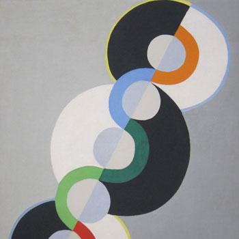Rythme sans fin, par Robert Delaunay, 1934 © Tate Modern, Londres