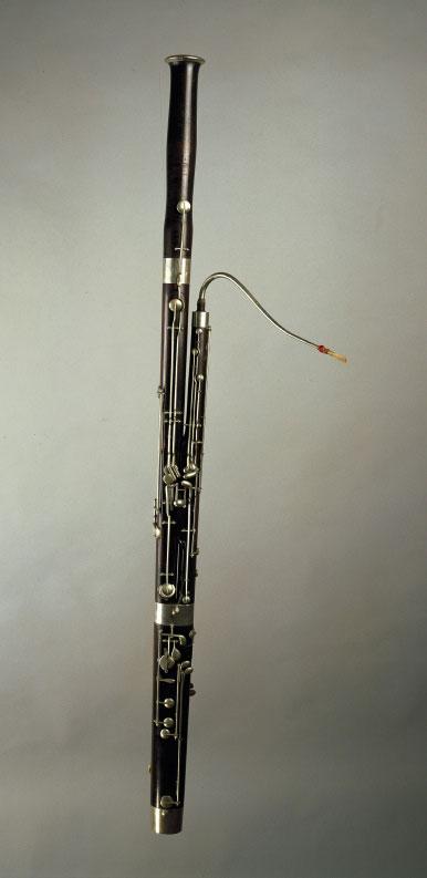 Basson © Musikinstrumenten-Museum, Staatliches Institut für Musikforschung