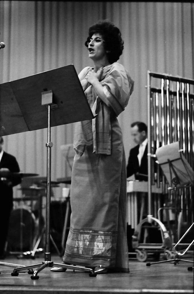 Cathy Berberian © Landesarchiv Baden-Württemberg