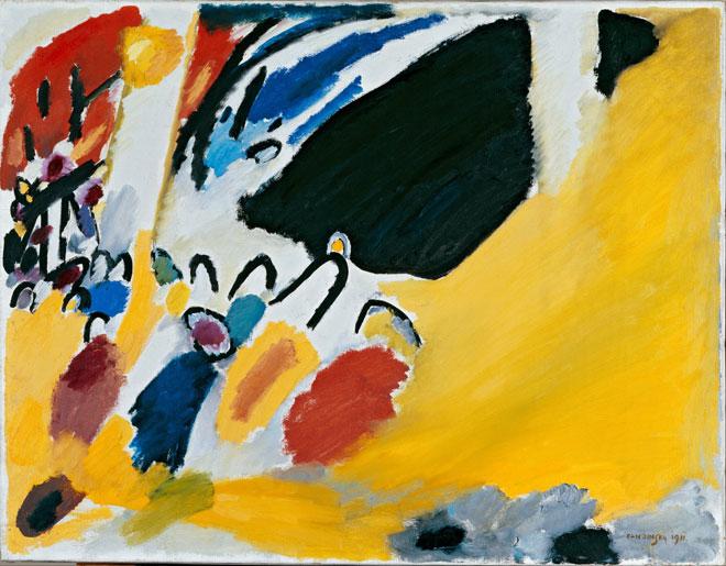 Impression III (Concert) de Kandinsky © Städtische Galerie im Lenbachhaus, Munich