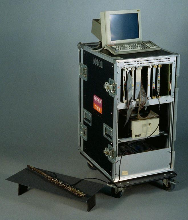Processeur 4X, photographie de JM Anglès © Philharmonie de Paris-Musée de la Musique