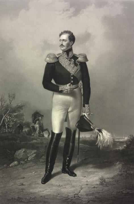 Nicolas Ier par Franz Kruger © Österreichische Nationalbibliothek