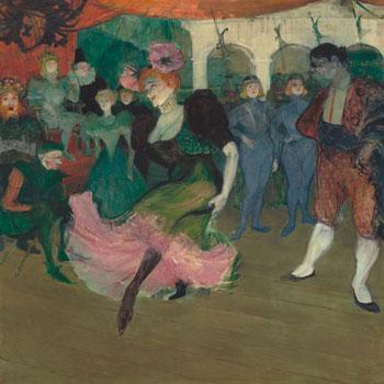 Henri de Toulouse Lautrec, Marcelle Lender dansant le boléro dans Chilperic, 1895-1896 © National Galery of Art Washington