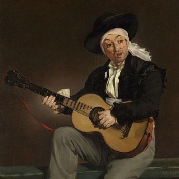 Le chanteur espagnol par Edouard Manet © Metropolitan museum