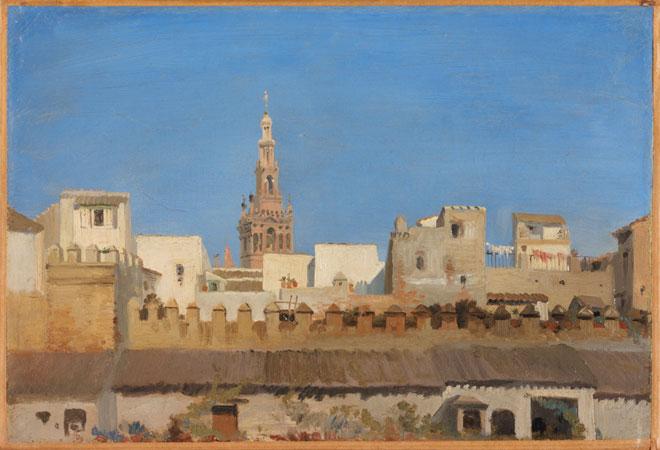 La Giralda, Séville, par Adrien Dauzats © Metropolitan Museum