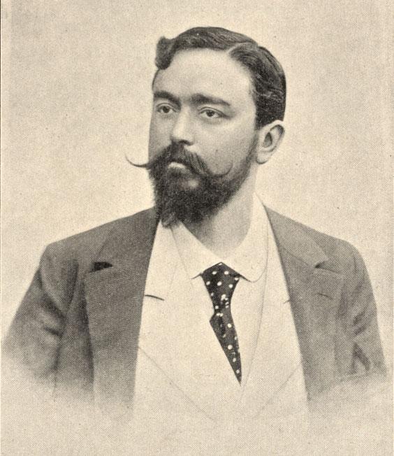 Portrait d'Isaac Albéniz © Österreichische Nationalbibliothek