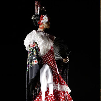 Costume de gitane © Museum Europäischer Kulturen der Staatlichen Museen zu Berlin