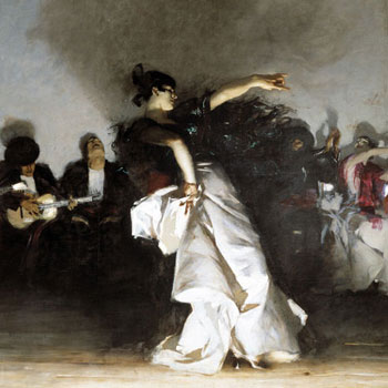 Baile flamenco, par J. G Saint-Sauveur © NY Public Library, digital collections