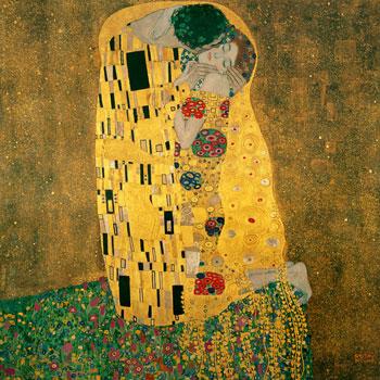 The Kiss, par Gustav Klimt © Österreichische Galerie Belvedere, Vienne