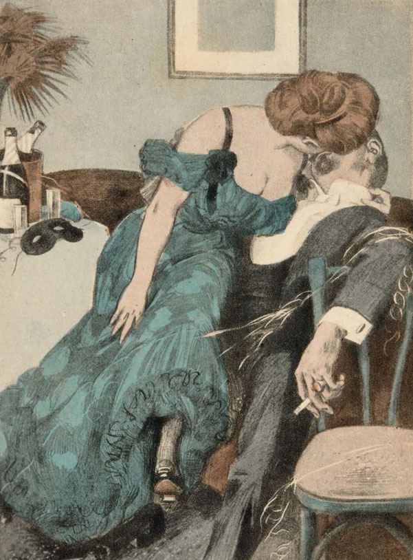 Lovers at the masquerade ball © Museum of Fine Arts, Boston