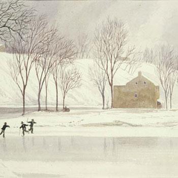 Patinage par Lefèvre James Cranstone © Museum of Fine Arts, Boston